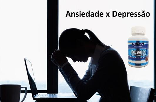 b03ddf464 Remedio Natural 500mg P  Combater Depressão Ansiedade 120cap - R  19 ...