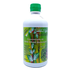 Remédio Natural Ajuda Combater 150 Doenças - 9 Ervas - 500ml