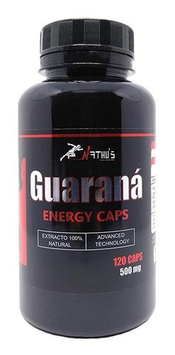 remédio natural para energia guarana 500mg 240 cápsulas