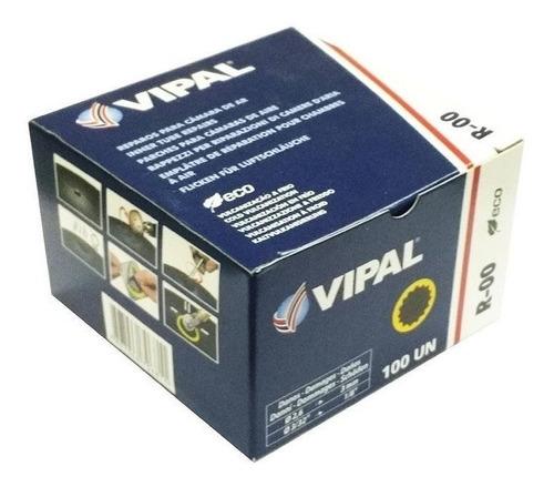 remendo a frio r00 30 mm - caixa 100 peças - vipal