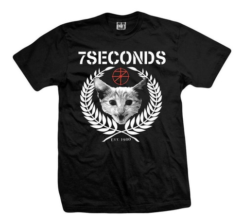 remera 7 seconds  posi-cat
