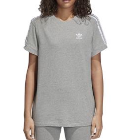 dc755c8ca Remera adidas Originals Moda 3 Stripes Tee Mujer Gr