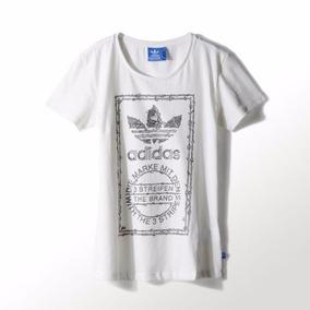 16506ceb9 Remera Blanca Adidas Mujer - Ropa y Accesorios en Mercado Libre ...