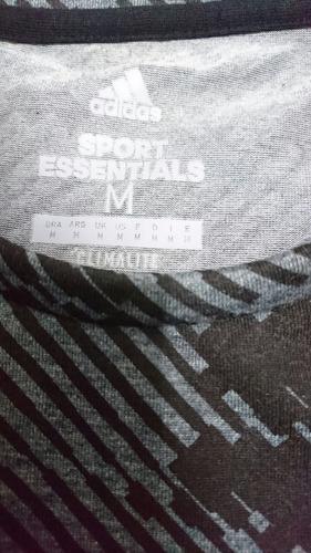 remera adidas training essentials original talle mediun