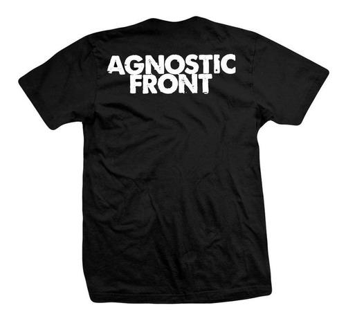 remera agnostic front  my life, my way , my destiny