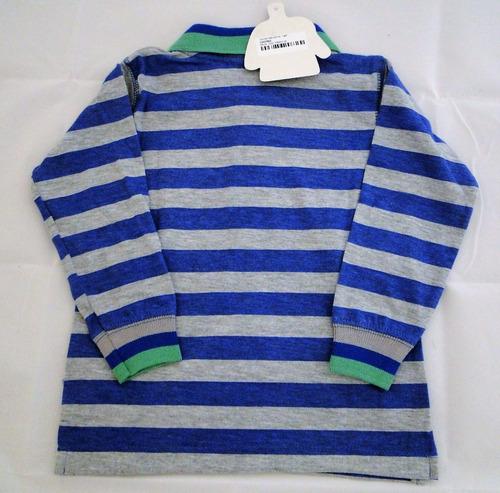 remera algodón bebé g de b 18 meses equivalente a carters