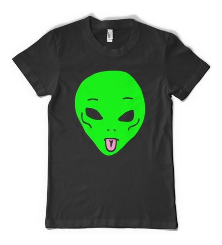 remera alien area 51  - color animal