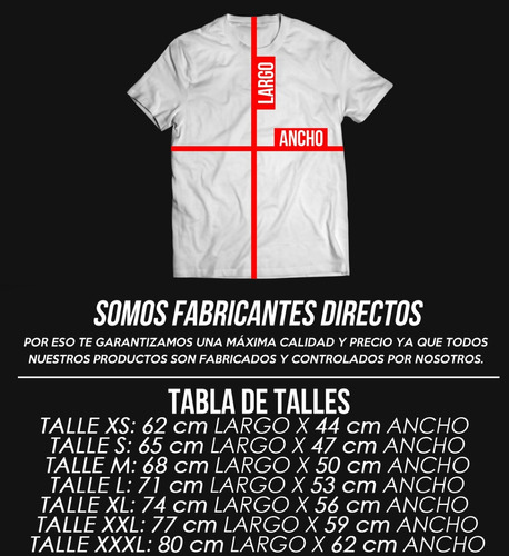 remera antifama, xxl irione, fili wey, el as, eap