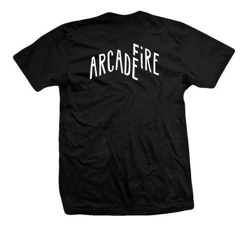remera arcade fire  hand