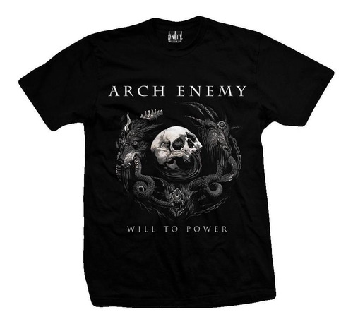 remera arch enemy  will to power