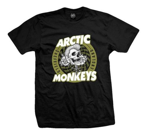 remera artic monkeys  black treacle