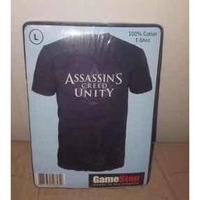 Remera Assassins Creed Unity Gamestop Original