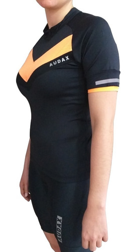 remera audax brevet mujer