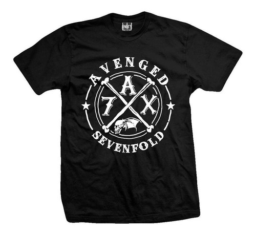 remera avenged sevenfold  7ax