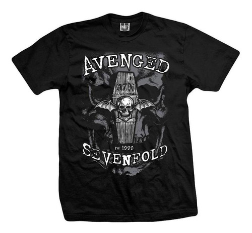 remera avenged sevenfold  nightmare