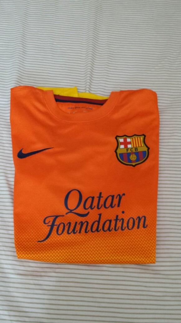 remera barcelona original nueva naranja amarilla. Cargando zoom. 1e6ef0fc2ed
