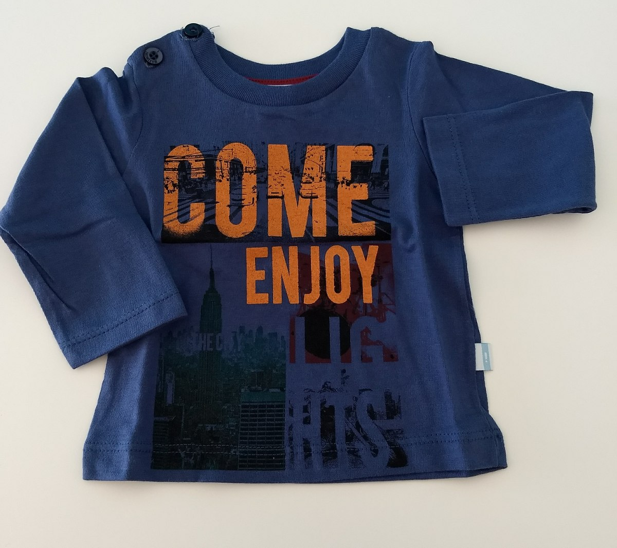 b6980565ea8 remera bebe recién nacido manga larga camiseta algodon varon. Cargando zoom.