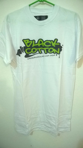 remera black cotton. algodon peinado talle m. oferta!!