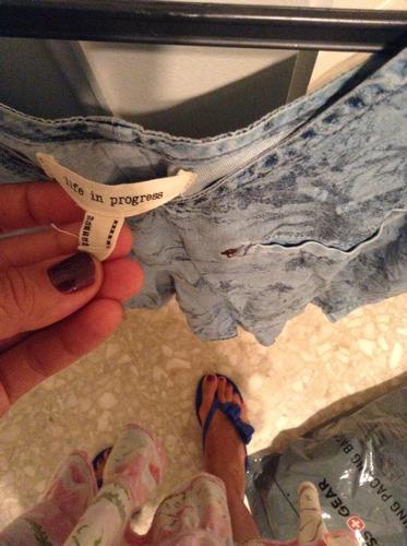 remera blusa jean estampado forever original celeste azul