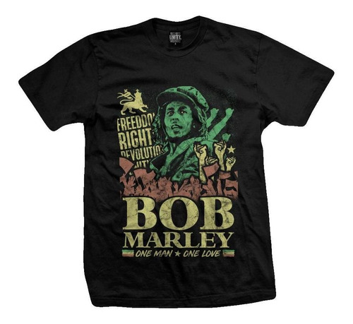 remera bob marley one love