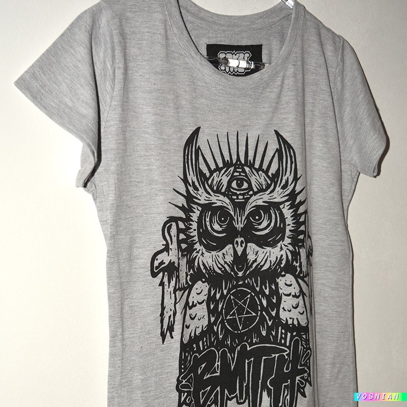 Remera Búho Bmth Bring Me The Horizon Mujer   Oferta 50% Off -   99 ... a86074c3b11