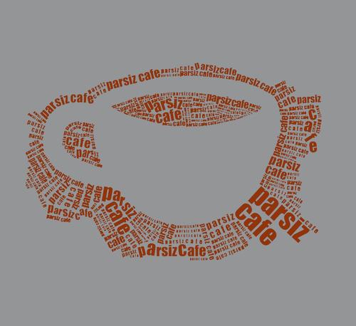 remera cafe - estampados con onda - diseño exclusivo