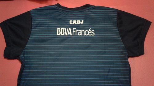 remera camiseta boca juniors suplente 2017 azul para damas