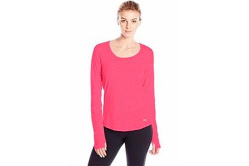 remera camiseta deportiva under armour mujer streaker ls