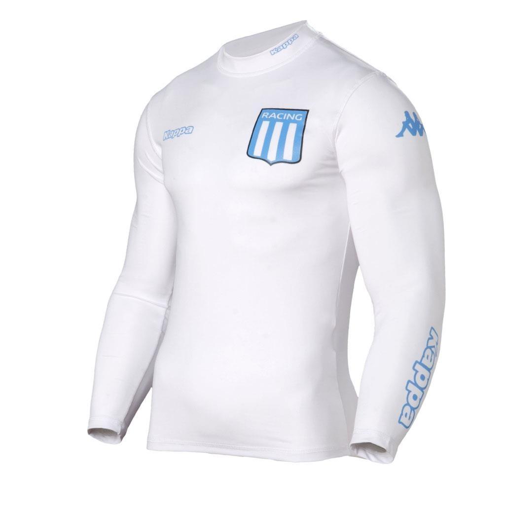 0c08d4178 remera camiseta termica racing club kappa oficial adulto. Cargando zoom.