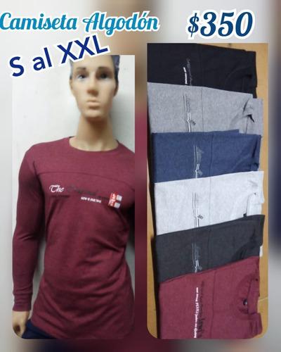 remera , camiseta,mangas largas,talles,nueva! envió consult.