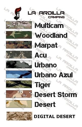 remera camuflada desert storm 44937