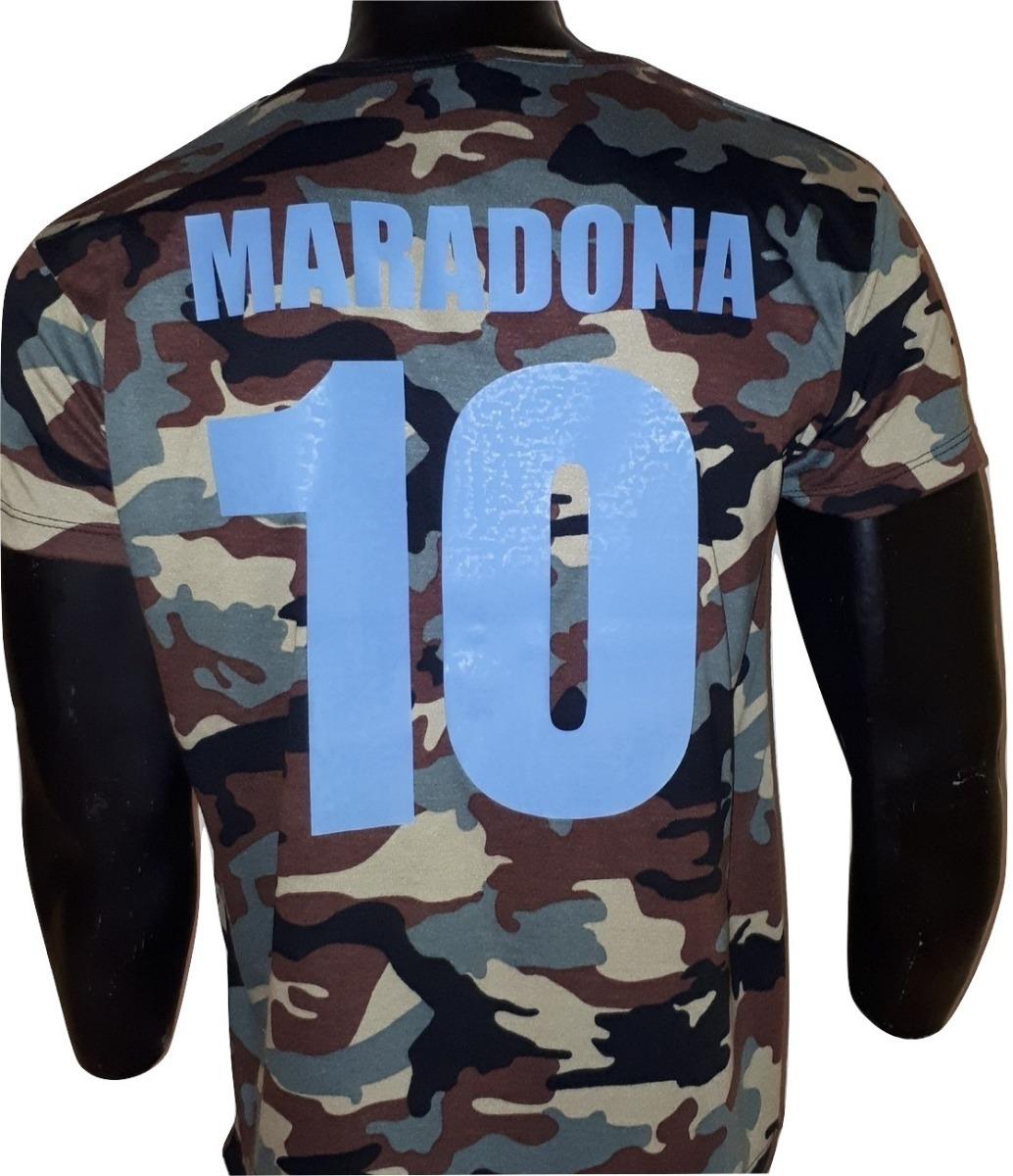 8295b1013971b remera camuflada napoli maradona 10 exclusiva envío gratis!! Cargando zoom.