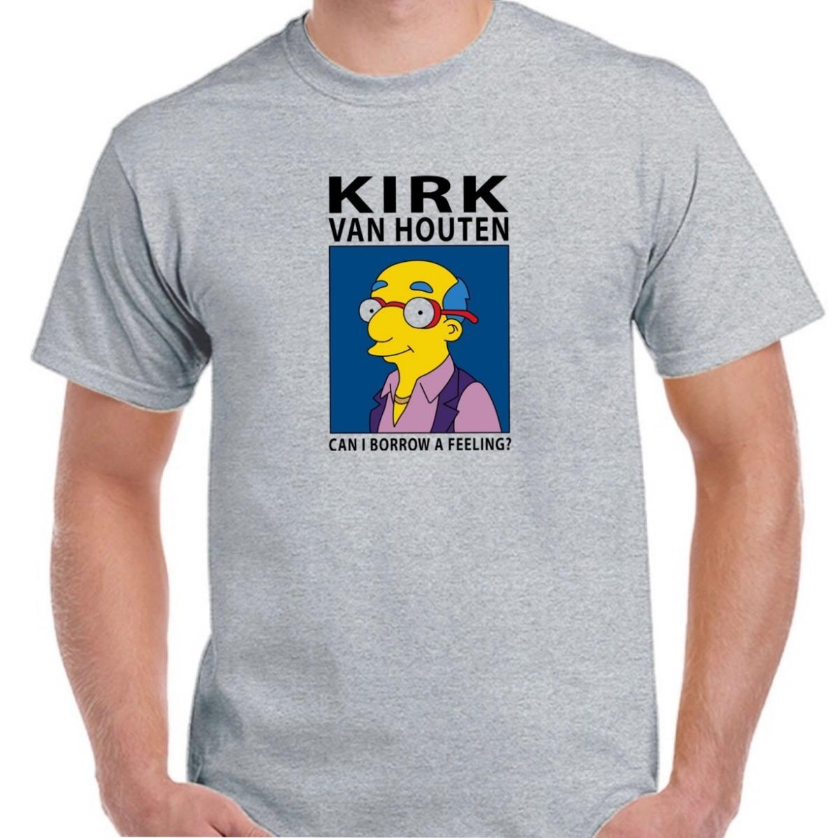 10bc7f8fb Remera Can I Borrow A Feeling Simpsons Kirk Van Houten - $ 299,99 en ...