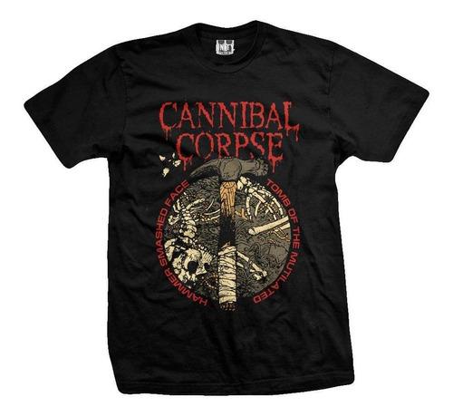 remera cannibal corpse hammer