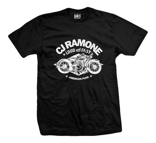 remera cj ramone strength to endure