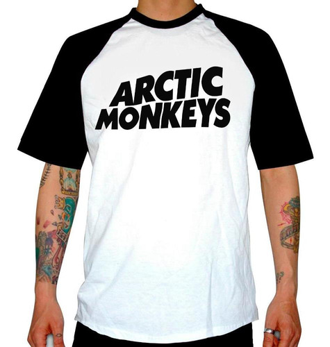 remera combinada artic monkeys  i wanna be yours