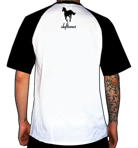remera combinada deftones  pony