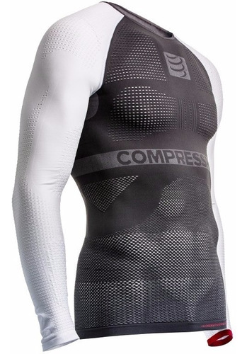 remera compresión compressport on/off multisport manga larga