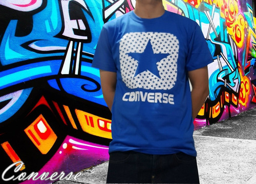 remera converse pack x 6 unid x mayor