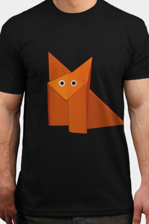Remera cute origami fox 49500 en mercado libre remera cute origami fox thecheapjerseys Gallery