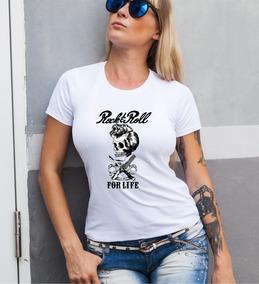 For Premiun Life De Rock And Dama Calidad Remera Roll sBtdhQrCx