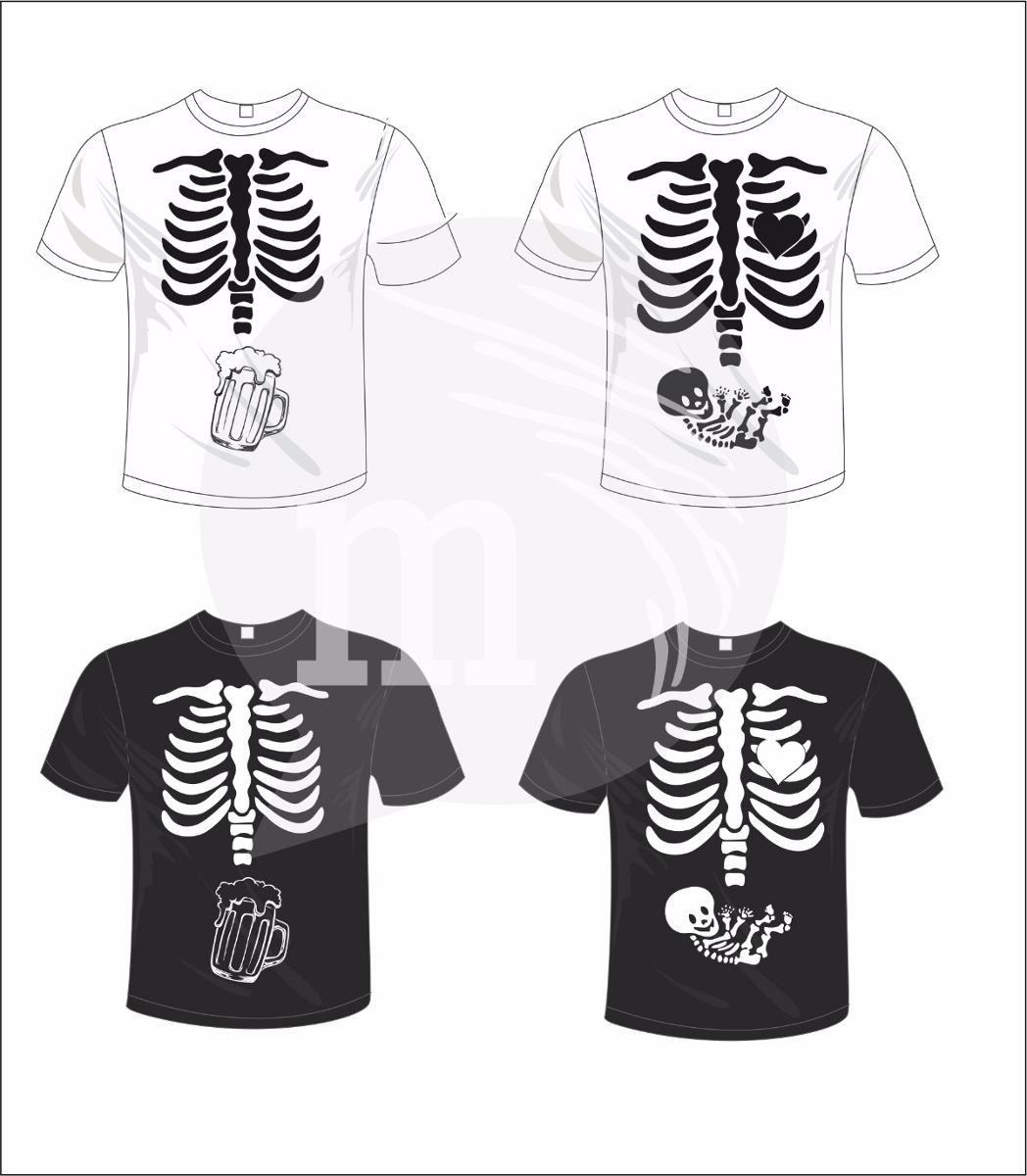 remera de diseño esqueleto embarazados en vinilo. Cargando zoom. fd43aa70a7c23