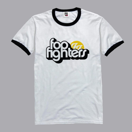 remera de mujer foo fighters