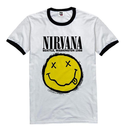 remera de mujer nirvana