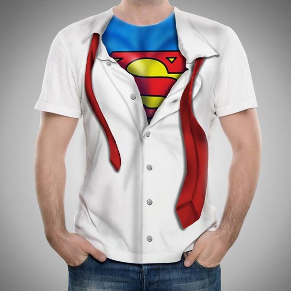 Remera De Pelicula Superman Camisa -   580 ddca50011eee8