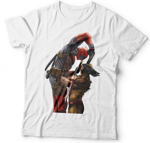 remera deadpool  samcro remeras dtg