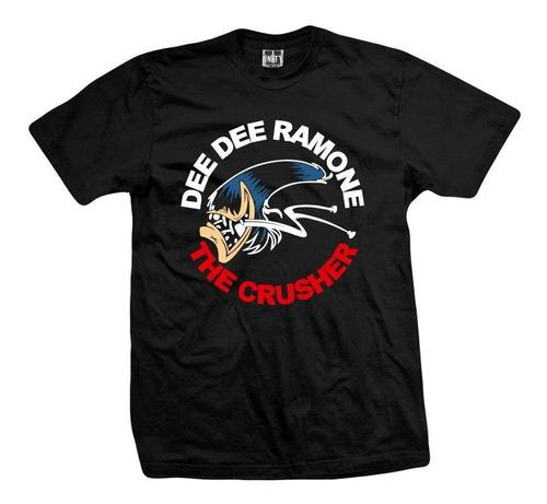 remera dee dee ramone  the crusher