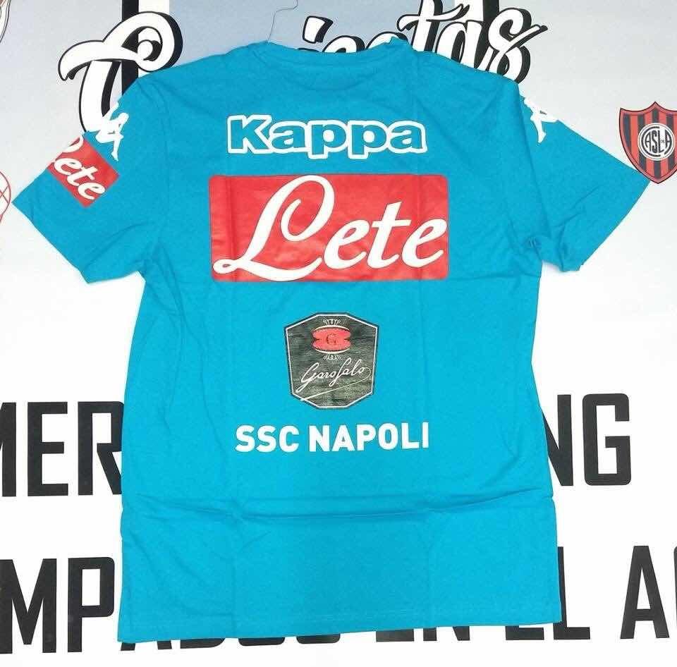 Remera Del Napoli Celeste Kappa 2018 De Utileria 6a1332c45dbd4