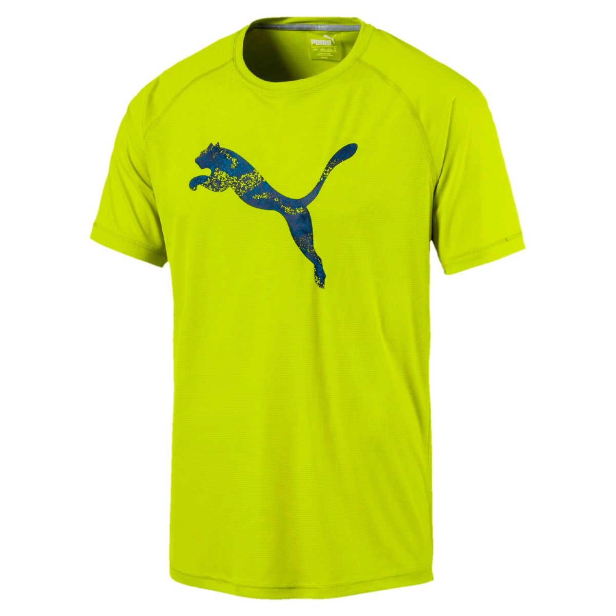 1ddee13cd733b remera deportiva puma hombre core-run logo s s tee dry cell. Cargando zoom.
