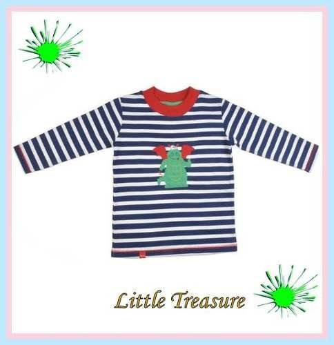 remera dinosaurio risata ta 6-12 meses little treasure